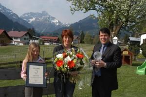 IGC Hotel Award honouring Sonnenburg