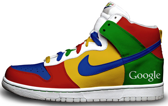 Google Nike shoes