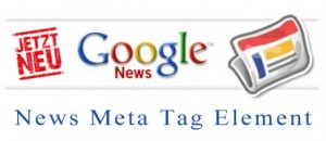 News Meta Tag Element