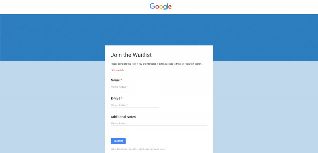 Join the Google Podium Waitlist